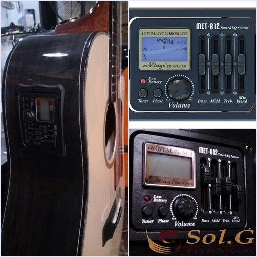 EQ Đàn Guitar MET - B12 - hàng chính hãng