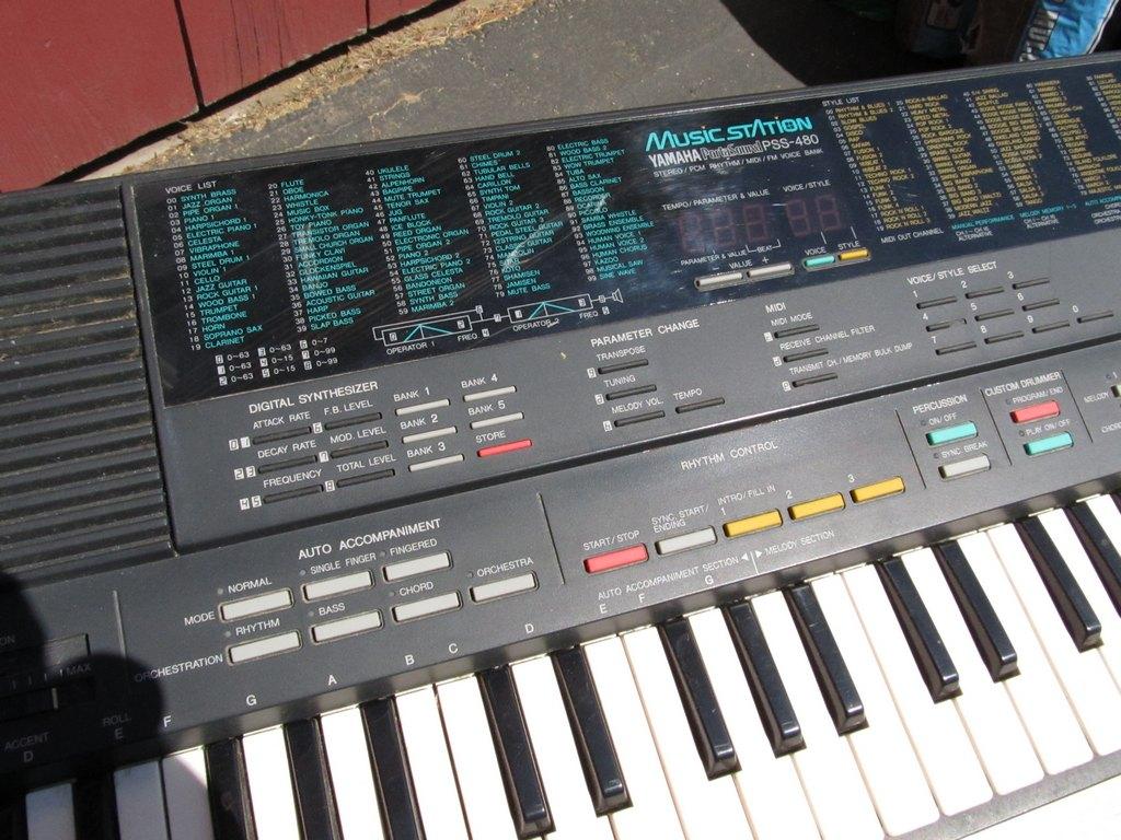 Cách sử dụng các nút điều chỉnh âm thanh trên đàn Organ Yamaha.
