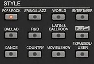 Style (Rhythm, Tiết tấu), Voice (Âm sắc, Tone), Tempo (Tốc độ) vào bộ nhớ (Registration Memory – Bank tiếng)